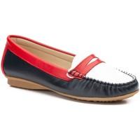 Sapatos Mulher Mocassins Par Y Medio Shoes Mocasin de mujer de piel by ParyMedio Multicolor