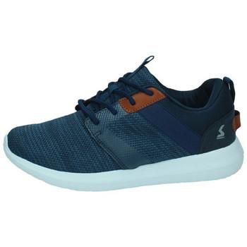 Sapatos Homem Sapatilhas Paredes  Azul