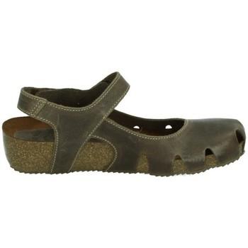 Sapatos Mulher Sandálias Interbios  Castanho