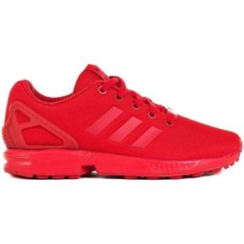 Sapatos Criança Sapatilhas adidas Originals ZX Flux J Vermelho