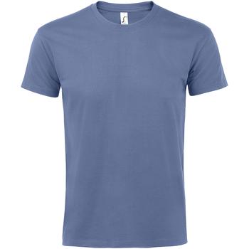 Textil Homem T-Shirt mangas curtas Sols 11500 Azul