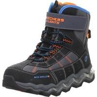 Sapatos Criança Sapatos de caminhada Skechers Kinderstiefel Polar Rush Preto,Cor de laranja