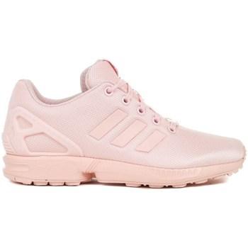 Sapatos Criança Sapatos & Richelieu adidas Originals ZX Flux J Cor-de-rosa