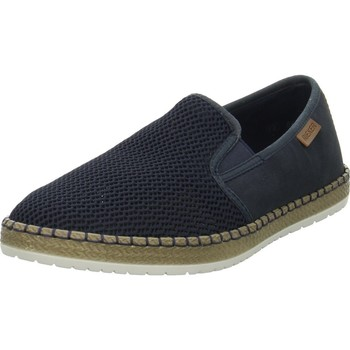 Sapatos Homem Sapatilhas Rieker Slipper Bordô,Azul