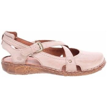 Sapatos Mulher Sandálias Josef Seibel Ballerinas Cor-de-rosa