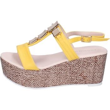 Sapatos Mulher Sandálias Solo Soprani Sandálias BN647 Amarelo