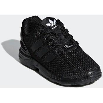 Sapatos Criança Sapatilhas adidas Originals ZX Flux EL I Preto