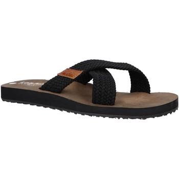 Sapatos Homem Sandálias Lois 86045 Negro