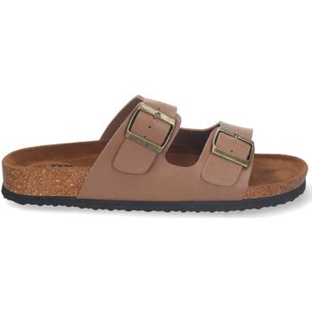 Sapatos Homem Chinelos Flyfor M-151 Camel