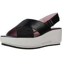 Sapatos Mulher Sandálias Stonefly KETTY 5 NET GLIT/NAP Preto