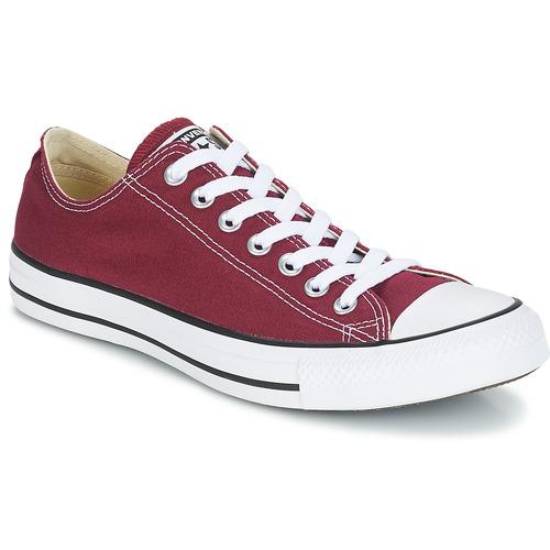 Sapatos Sapatilhas Converse CHUCK TAYLOR ALL STAR CORE OX Bordô