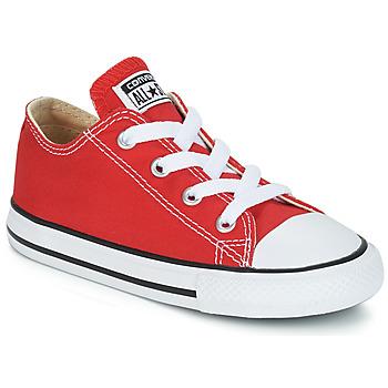 Sapatos Criança Sapatilhas Converse CHUCK TAYLOR ALL STAR CORE OX Vermelho