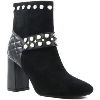 Sapatos Mulher Botins Parodi Shoes 79/1605.NERO Black
