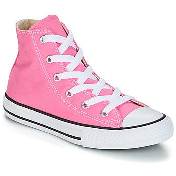 901d03030 Sapatos Rapariga Sapatilhas de cano-alto Converse CHUCK TAYLOR ALL STAR  CORE HI Rosa
