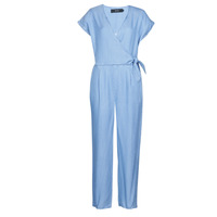 Textil Mulher Macacões/ Jardineiras Vero Moda VMLAURA Azul / Claro