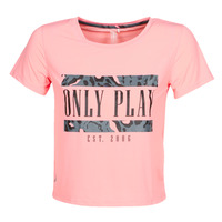 Textil Mulher T-Shirt mangas curtas Only Play  Rosa
