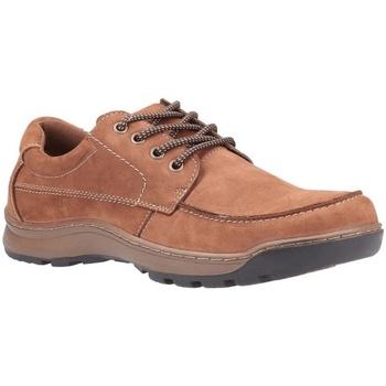 Sapatos Homem Sapatos Hush puppies  Tan