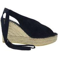Sapatos Mulher Alpargatas Vidorreta Cuña  24600 Negro Preto