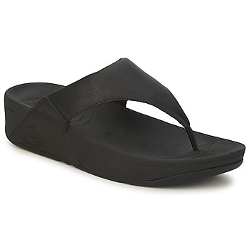 Sapatos Mulher Chinelos FitFlop LULU LEATHER Preto