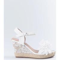 Sapatos Mulher Sandálias Mandarina Shoes Cuña Mandarina Daniela Blanco Branco