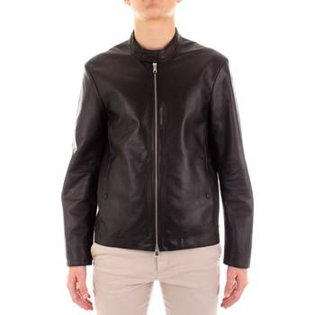 Textil Homem Casacos de couro/imitação couro The Jack Leather RADETZKY Preto