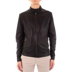 Textil Homem Casacos de couro/imitação couro Yes Zee J516-JA00 Preto