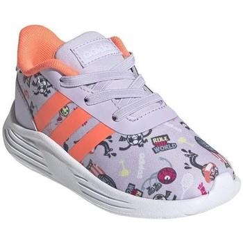 Sapatos Criança Sapatilhas adidas Originals Lite Racer 20 I Cinzento, Cor de laranja