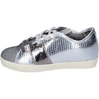Sapatos Rapariga Sapatilhas Enrico Coveri BN689 Prata