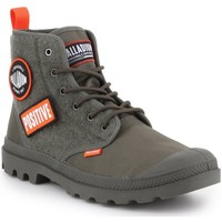 Sapatos Homem Sapatilhas de cano-alto Palladium Manufacture Pampa HI Change U 76648-325-M oliwkowozielony