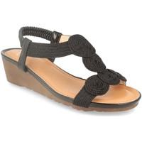 Sapatos Mulher Sandálias Colilai H070 Negro
