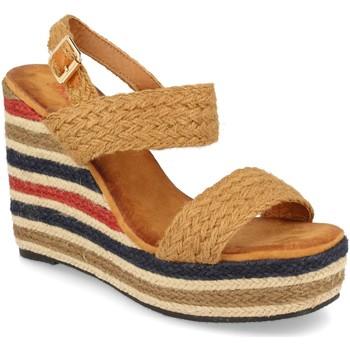 Sapatos Mulher Sandálias Milaya 5R8 Camel