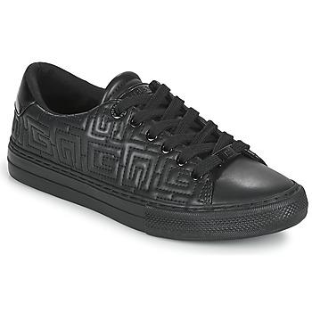 Sapatos Mulher Sapatilhas Guess GOLDENN Preto