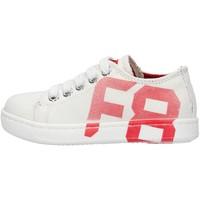Sapatos Rapaz Sapatilhas Falcotto - Sneaker bianco ALANIS-1N10 BIANCO