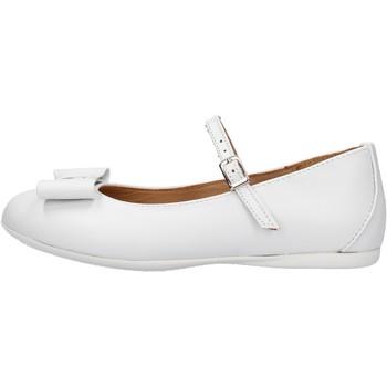 Sapatos Rapariga Sapatilhas Platis - Ballerina bianco P2077-10 BIANCO