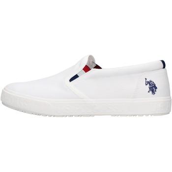 Sapatos Homem Sapatilhas U.S Polo Assn. U.s. polo assn. - Slip on  bianco JOSHUA BIANCO