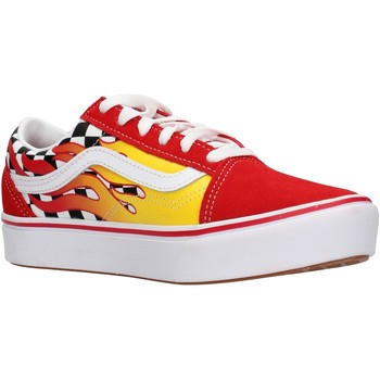 Sapatos Rapaz Sapatilhas Vans - Jn comfycush old skool rosso VN0A4UHAXWC1 ROSSO