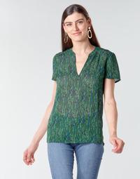 Textil Mulher Tops / Blusas Ikks BR11055 Verde