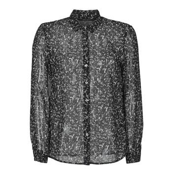 Textil Mulher camisas Ikks BR12025 Preto