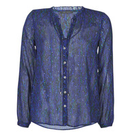 Textil Mulher camisas Ikks BR13035 Marinho