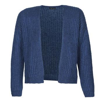 Textil Mulher Casacos de malha Ikks BR17015 Marinho