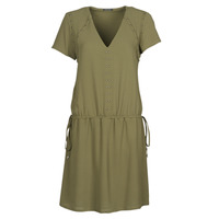 Textil Mulher Vestidos curtos Ikks BR30015 Cáqui
