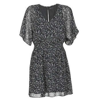 Textil Mulher Vestidos curtos Ikks BR30075 Preto