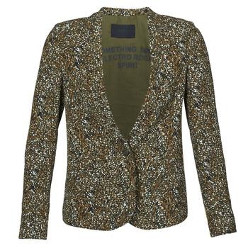 Textil Mulher Casacos/Blazers Ikks BR40005 Cáqui