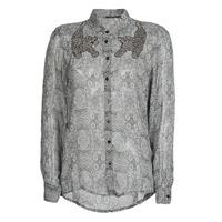 Textil Mulher camisas Ikks BR12055 Preto