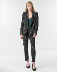Textil Mulher Calças finas / Sarouels Ikks BR22125 Preto