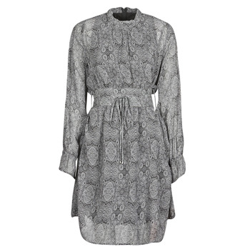 Textil Mulher Vestidos curtos Ikks BR30165 Cinza