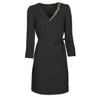 Textil Mulher Vestidos curtos Ikks BR30265 Preto