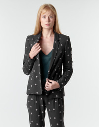 Textil Mulher Casacos/Blazers Ikks BR40115 Preto