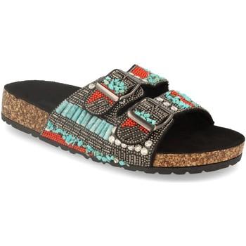 Sapatos Mulher Chinelos Buonarotti 1GG-0034 Negro
