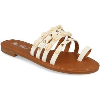 Sapatos Mulher Sandálias Milaya 2R33 Blanco